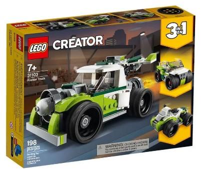 LEGO Creator - Caminhão-Foguete - 31103