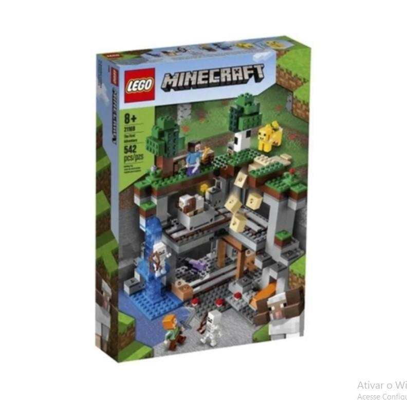 LEGO Minecraft A Primeira Aventura 21169