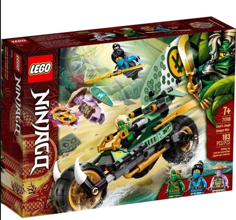 LEGO NINJAGO Chopper da Selva do Lloyd