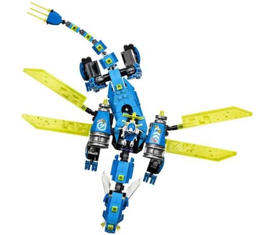 LEGO Ninjago - O Ciber dragão do Jay-71711