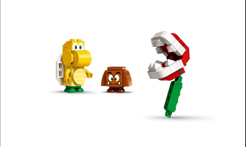 LEGO Super Mario - Derrapagem da Planta Piranha - Pacote de Expansão 71365