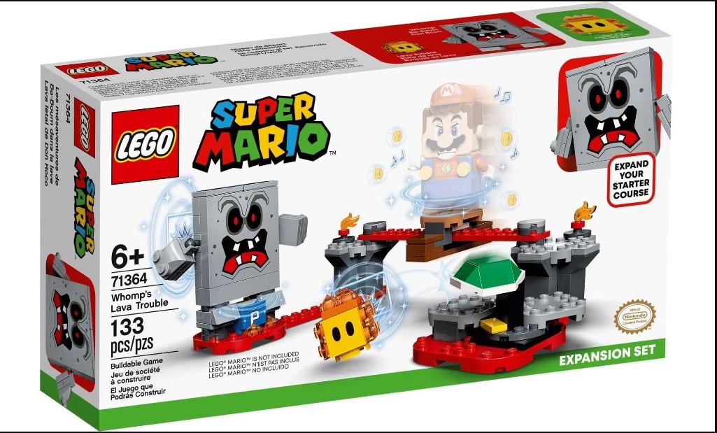 LEGO Super Mario - Revés das Lavas do Esmagão - Pacote de Expansão