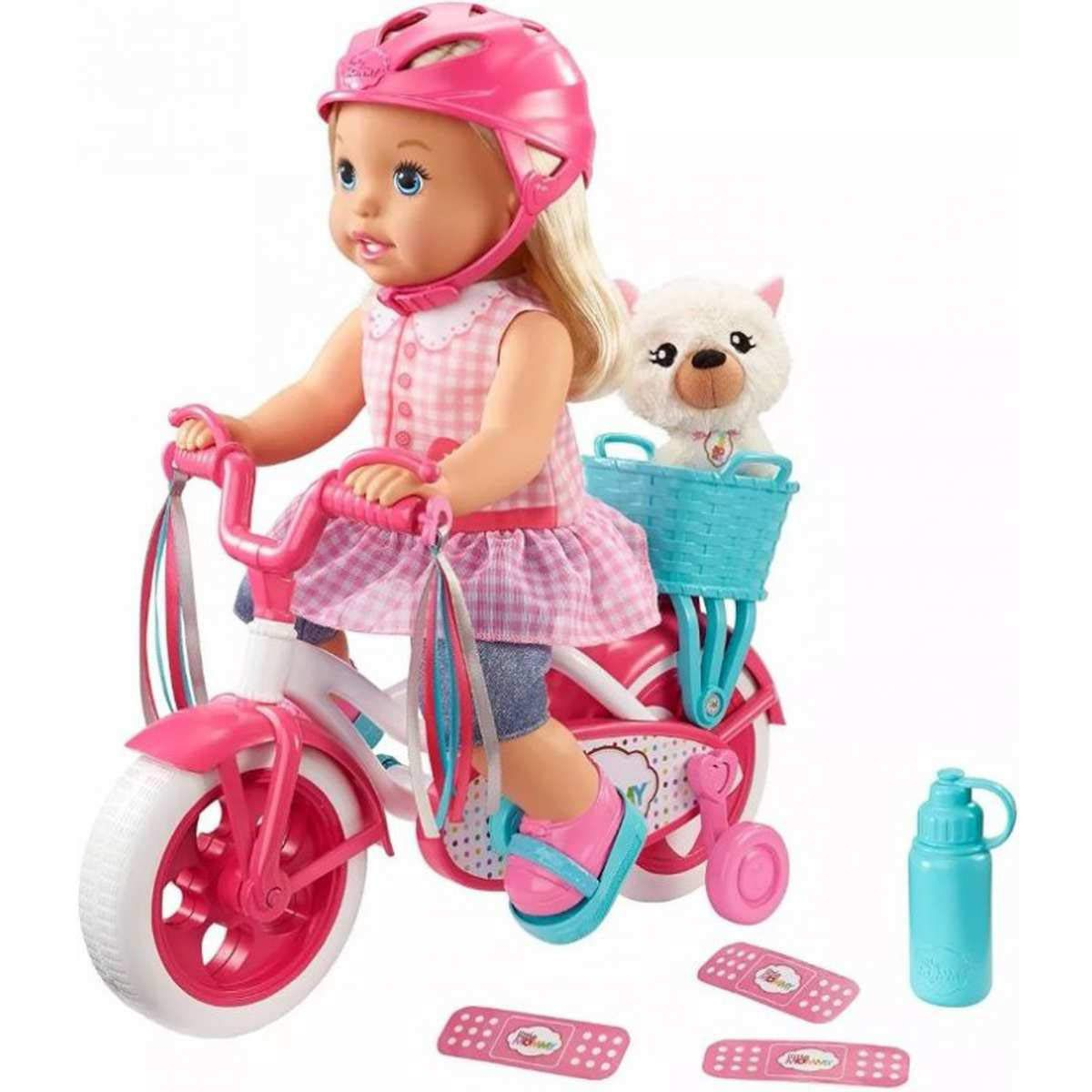Little Mommy Meu Primeiro Passeio-Mattel-FCN11