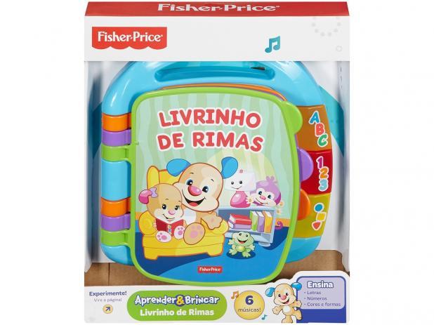 Livrinho de Rimas Azul - Fisher-Price - CDH62