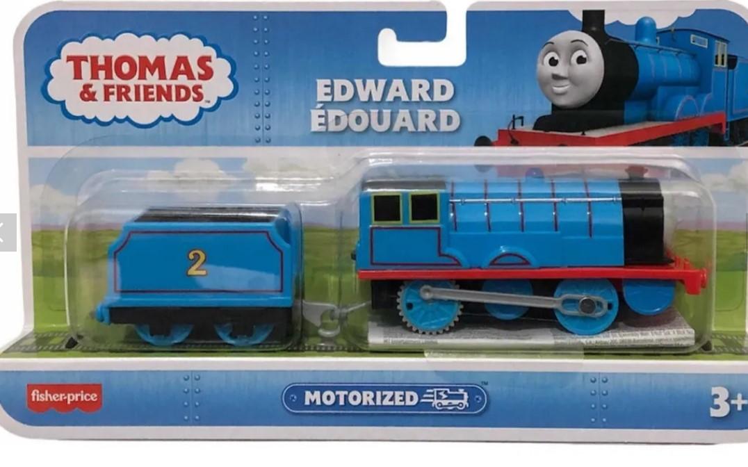Locomotiva Thomas & Friends TrackMasters Edward Mattel BMK88
