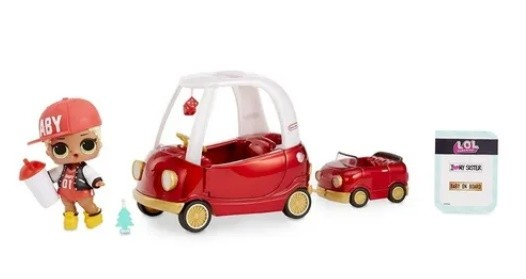 LOL Surprise Furniture Cozy Coupe Mc Swag - Candide
