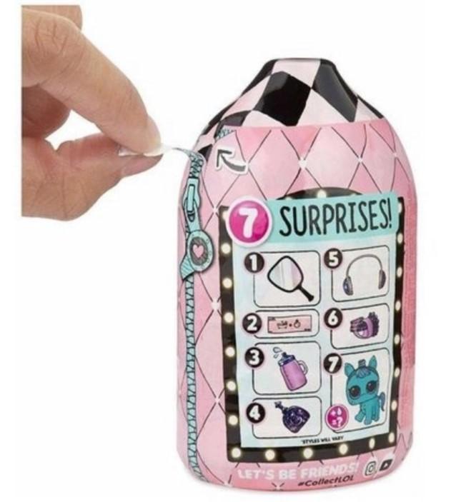 Lol Surprise Fuzzy Pets 7 Surpresas Candide 8923