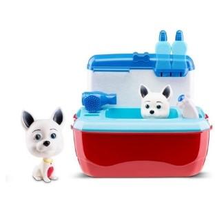 Maleta Dr Canino Pet C/ Acessórios Azul/vermelho Roma