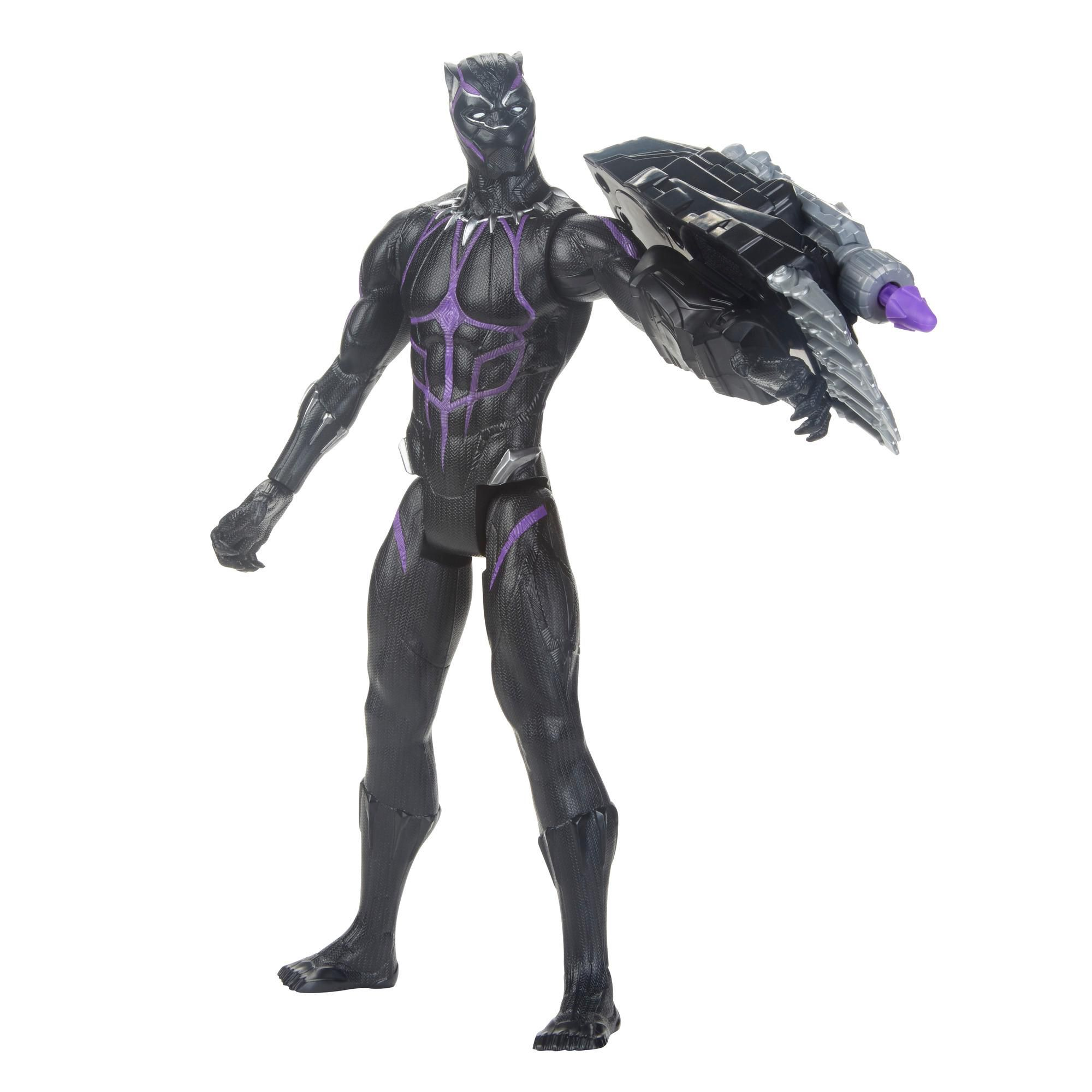 Marvel Avengers: Endgame- Titan Hero Power FX Pantera Negra - Hasbrp - E3306