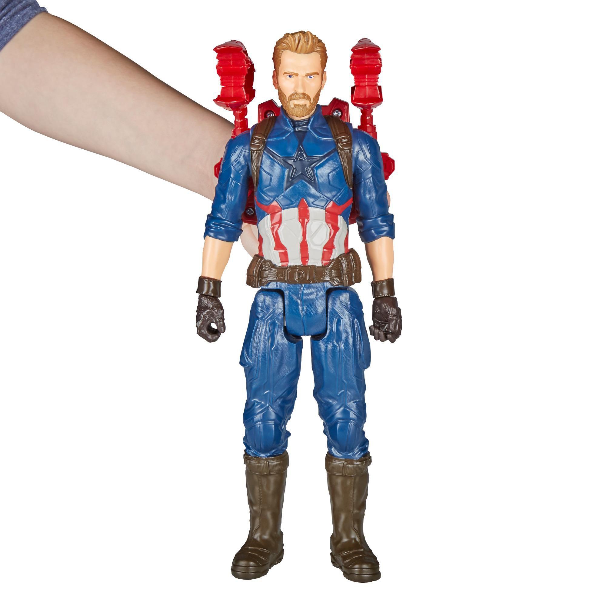 Marvel Infinity War Titan Hero Series Capitão America - Hasbro - E1421