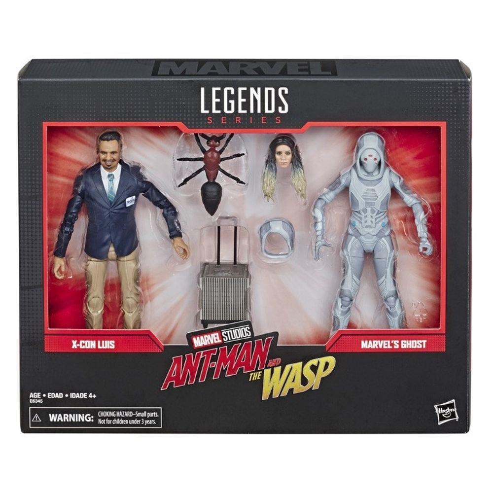 Marvel Legends X-con Luis E Ghost 80 Anos Hasbro E6345