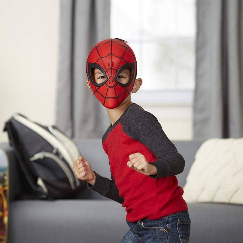 Máscara Eletrônica Infantil Temática Homem Marvel Hasbro E0619