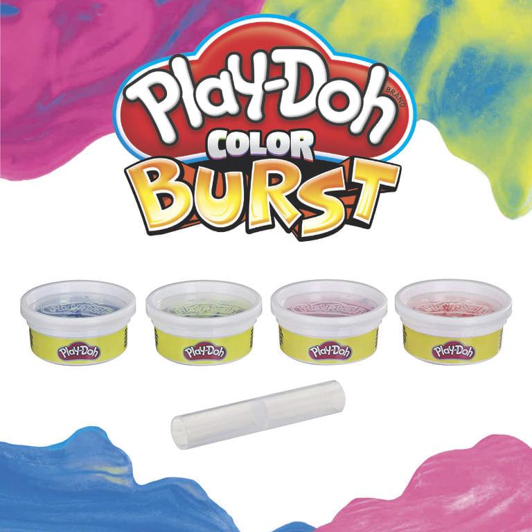 Massinha Play Doh Color Burst E8060 Hasbro