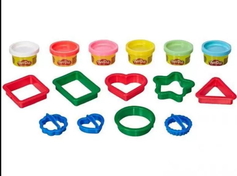 Massinha Play Doh Fundamentals Molde de Formas Hasbro E8534