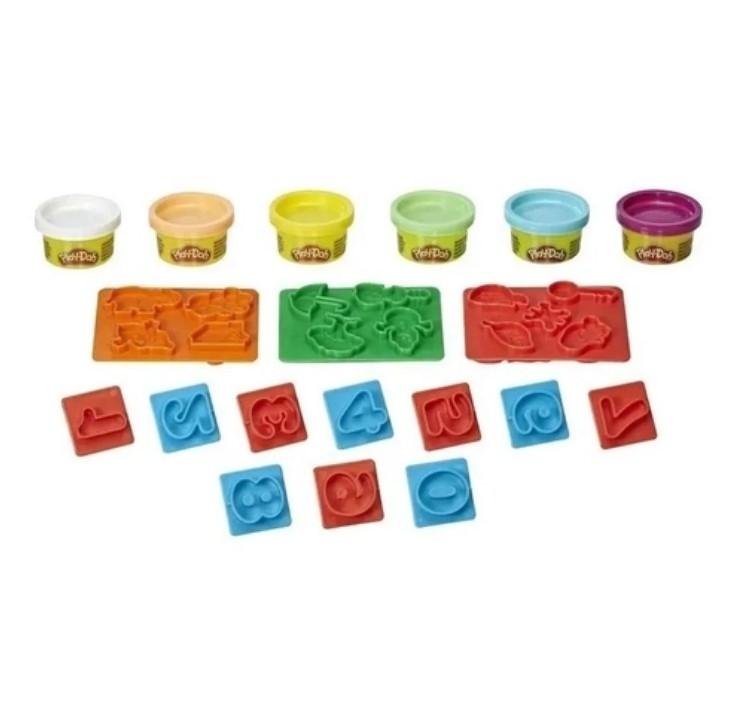 Massinha Play-doh - Números E8533 - Hasbro