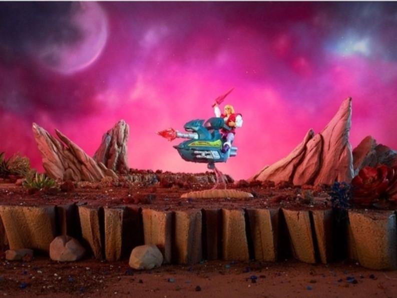 He-Man Jet Sled Y/E Príncipe Adam Original GPP30