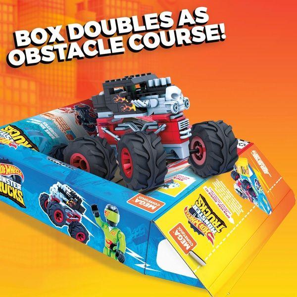 Mega Construx Hot Wheels Bone Shaker Monster Truck