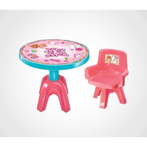 Mesa Com Cadeira Baby Alive - Líder - 2478