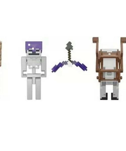 Minecraft Batalha do Cavaleiro Esqueleto GTT53 Mattel