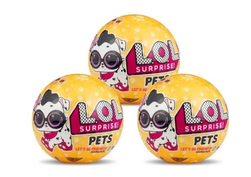 Mini Boneca Surpresa  LOL  Pets  Série 3  Candide