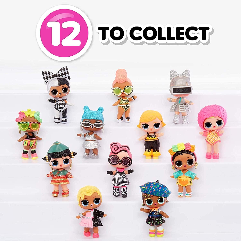 Mini Boneca Surpresa - LOL Surprise! - Lights Glitter - 8 Surpresas - Candide