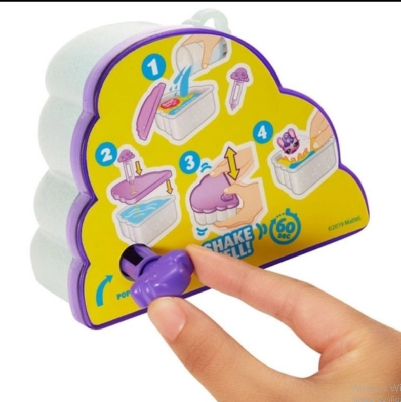 Figura Surpresa - Cloudees - 6 Surpresas - Mattel GNC94