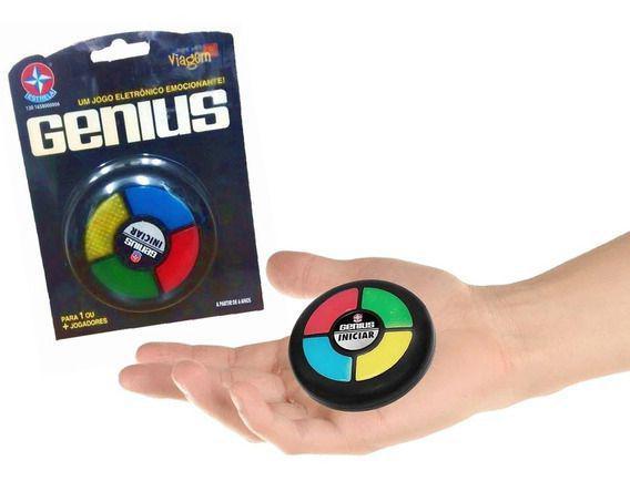 Mini Jogo Genius para Viagem Estrela