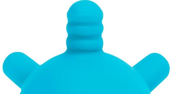 Mordedor Bolinha Multi Texturas Azul buba