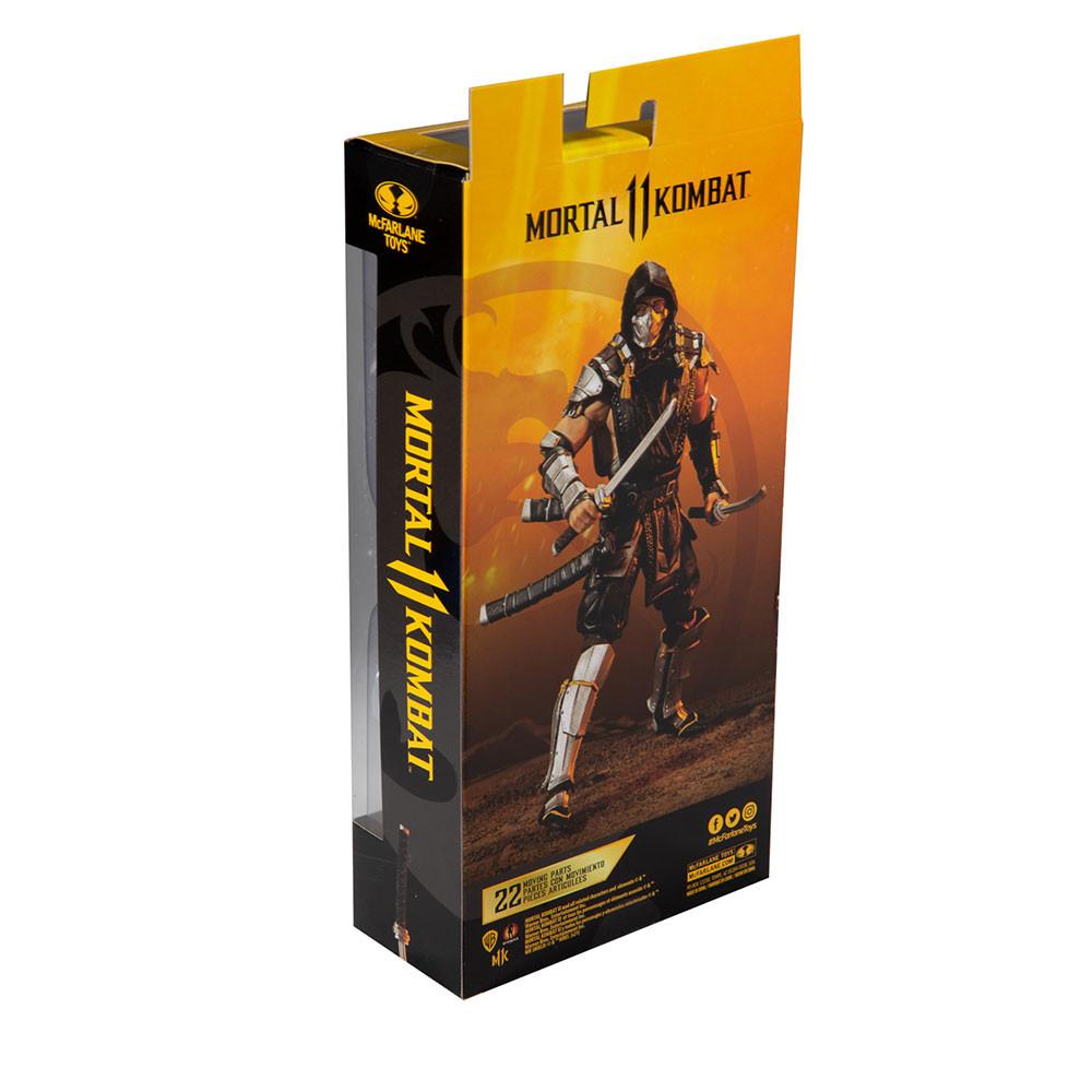 Boneco Scorpion Mortal Kombat McFarlane - Fun f0053-0