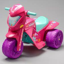 moto elétrica ban moto gatinha rosa 6v bandeirante