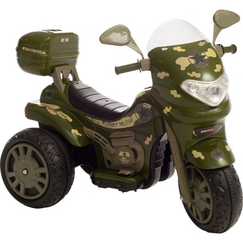 Moto Elétrica Sprint Turbo Militar 12V C/Capacete 672 - BIEME