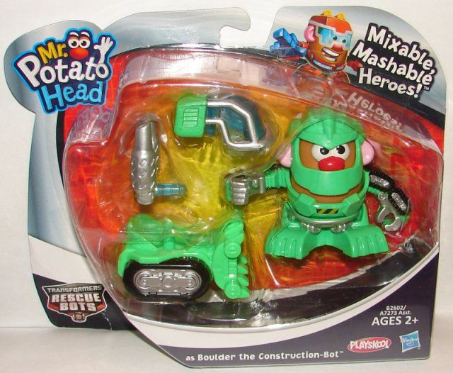 Mr. Potato Head- Transformers Rescue Bots- Boulder- Playskool- A7273