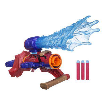 Nerf Assembler Gear Marvel Vingadores: Infinity War- Aranha de Ferro- Hasbro- E2134