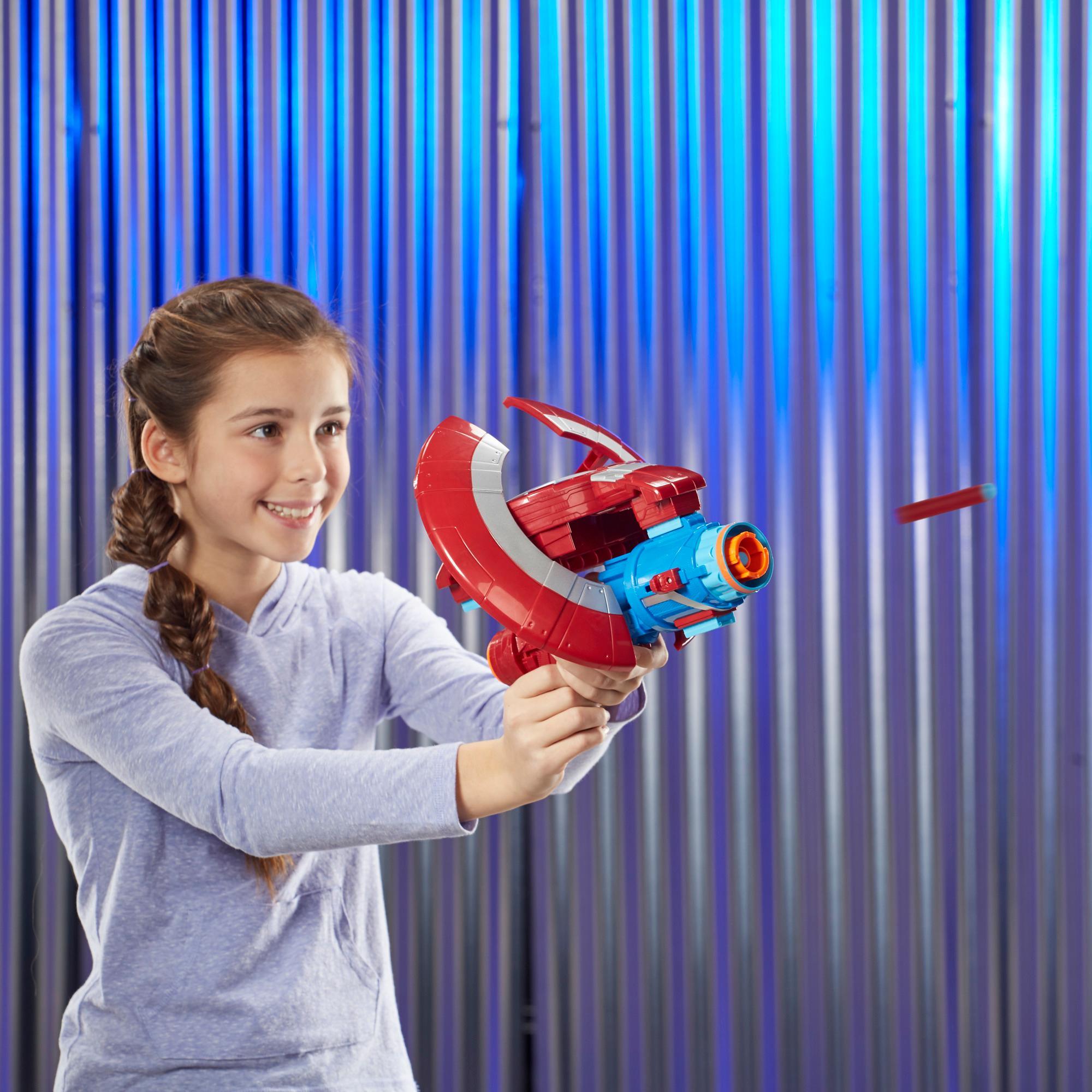 Nerf Assembler Gear Marvel Vingadores: Infinity War- Capitão America- Hasbro- E0567