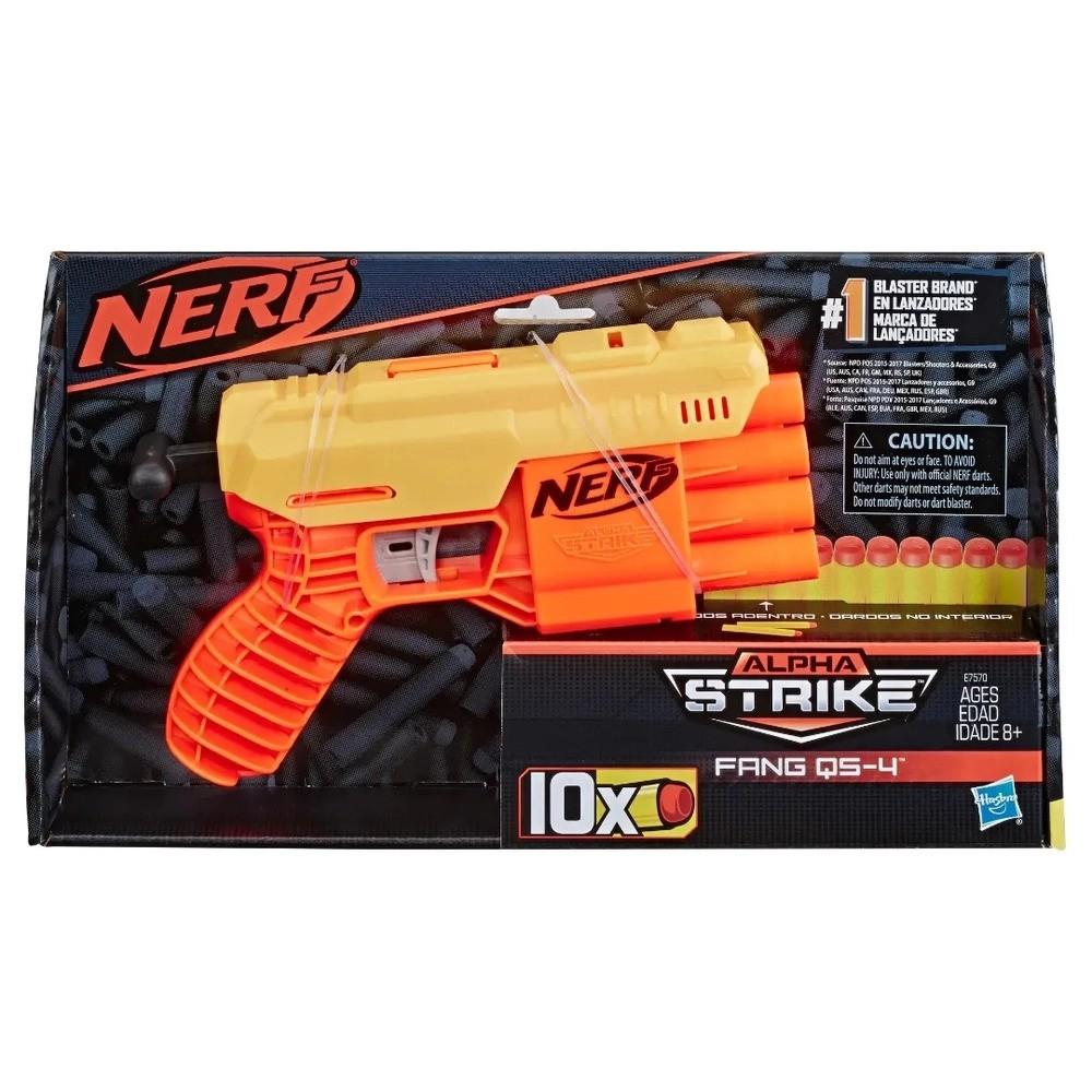 Nerf - Lançador Alpha Strike Fang Qs-4 E7570 - Hasbro