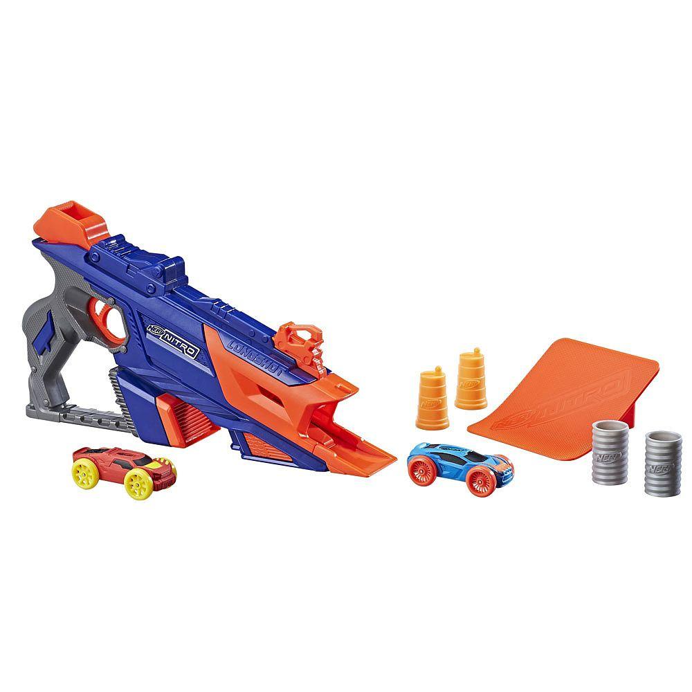 Nerf Lançador de Carros Longshot Smash-Hasbro-C0784