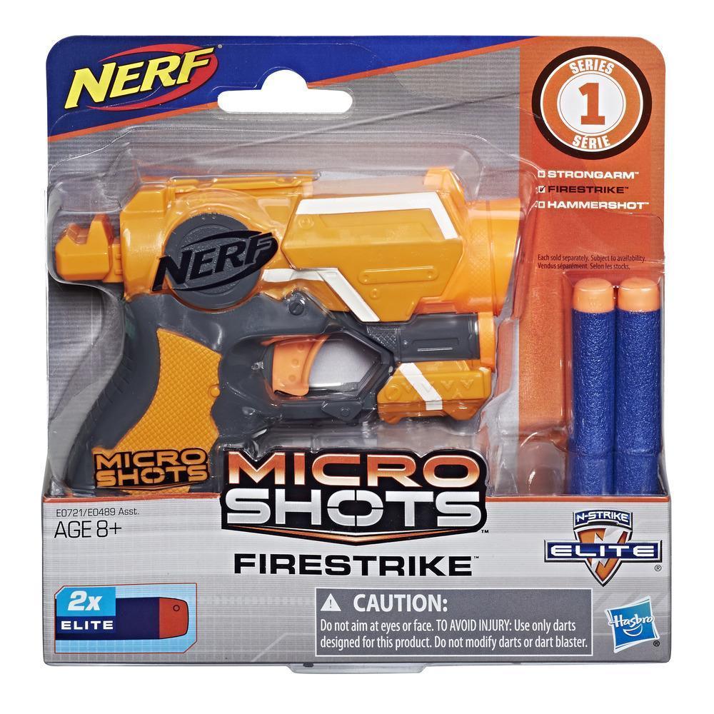 Nerf MicroShots N-Strike Elite Firestrike - Hasbro - E0489