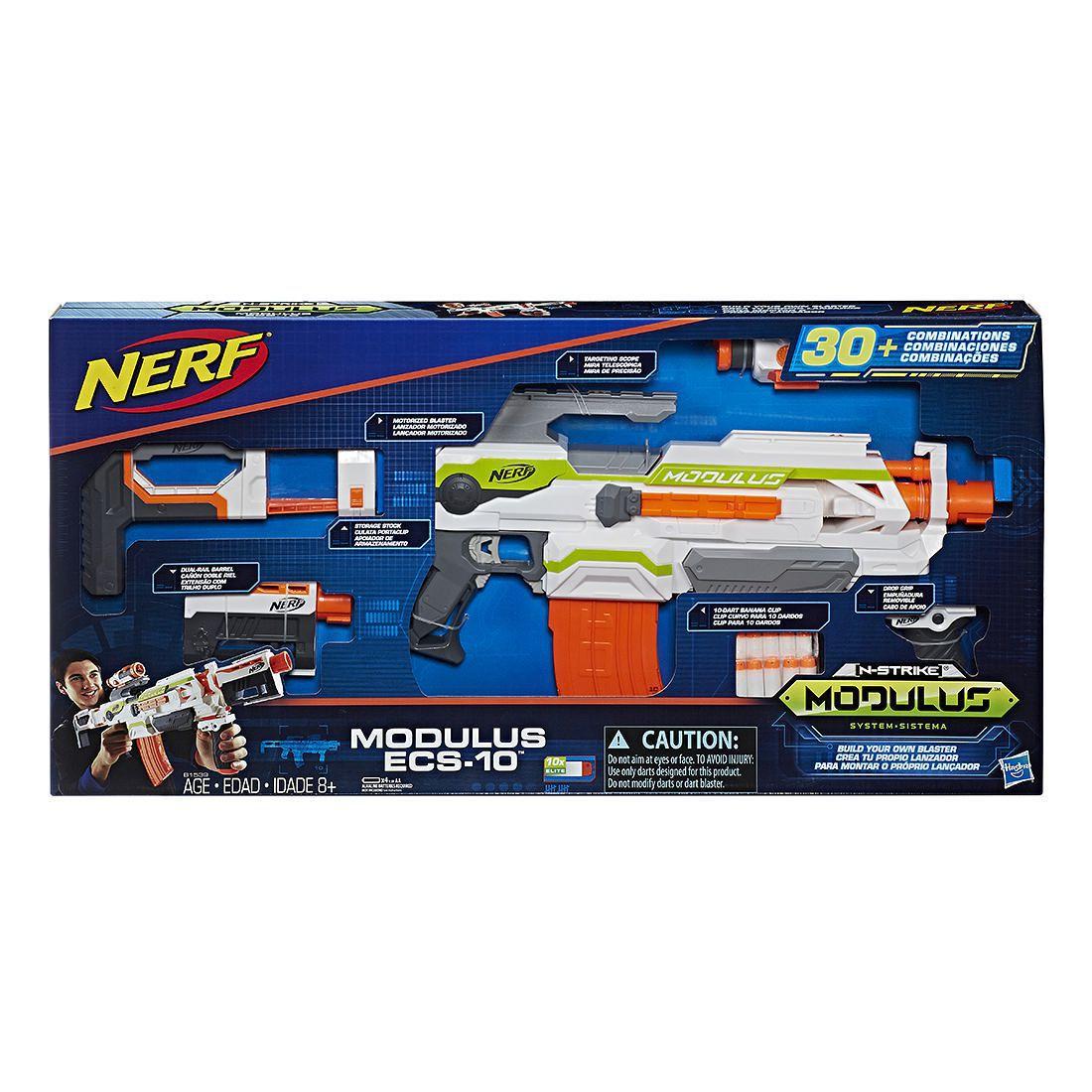 Nerf N-Strike Modulus Blaster ECS-10-Hasbro-B1539