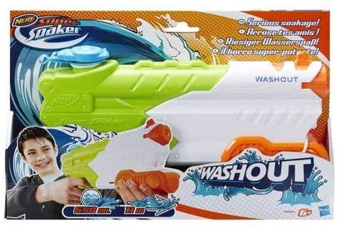 Novo Lançador De Agua Nerf Super Soaker Washout Hasbro