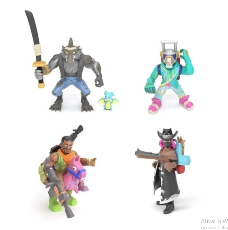 Pack 4 Figuras Fortnite Battle Royale Collection Serie 2 Fun 84708