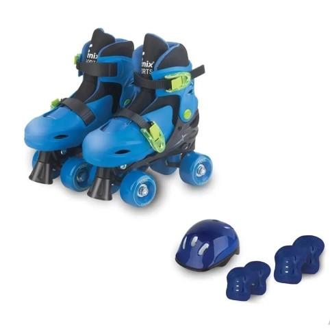 Patins Roller 04 Rodas Com Acessorios PK-01P 34-37 Fenix