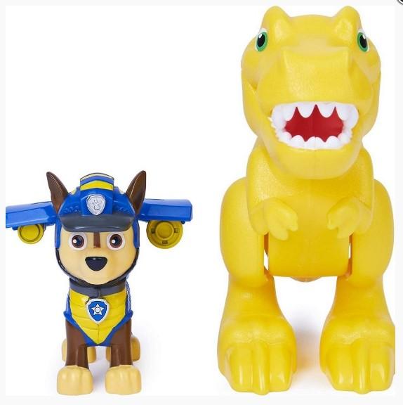 Patrulha Canina Dino Rescue Chase e Tyrannosaurus Rex Sunny