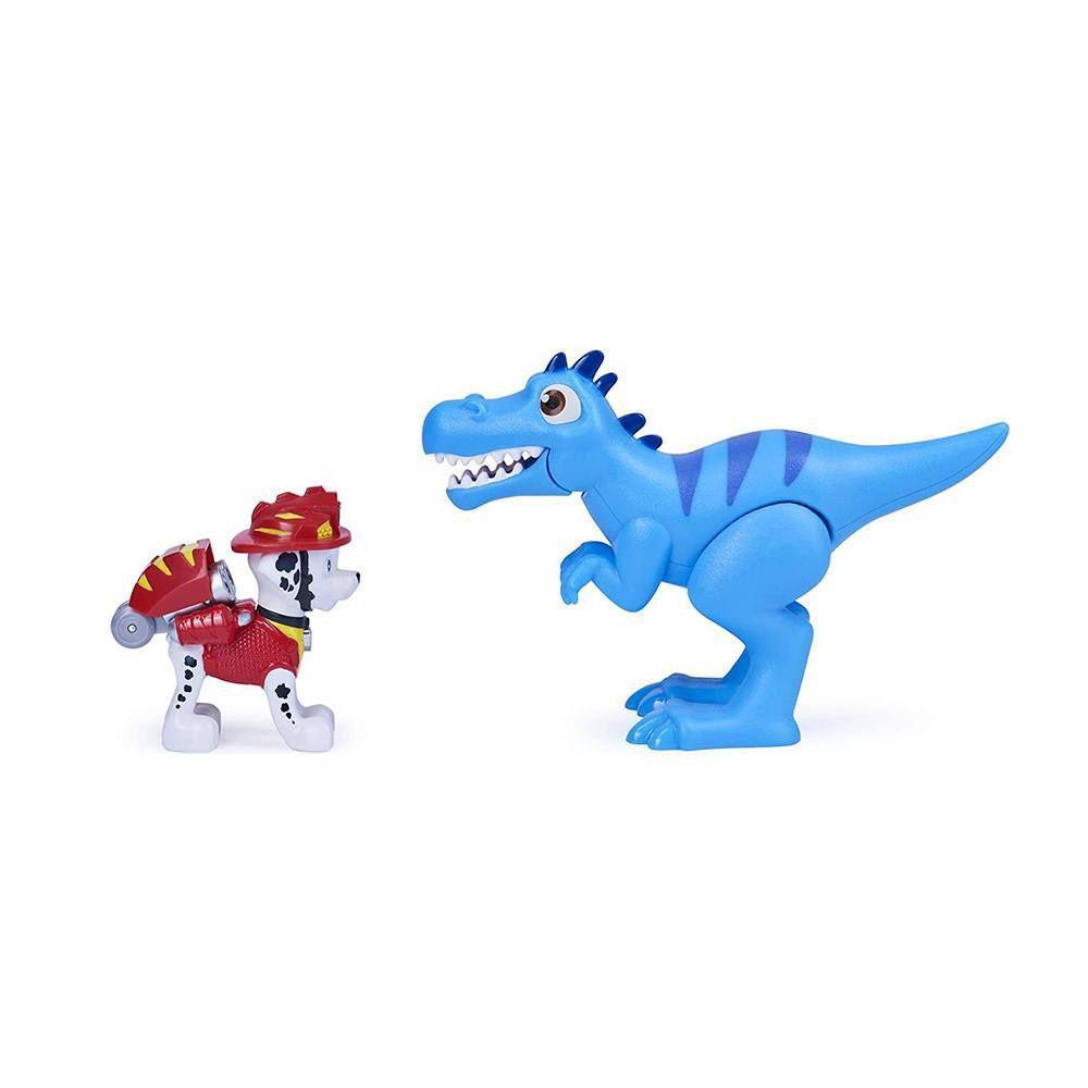 Patrulha Canina Dino Rescue Marshall e Velociraptor Sunny