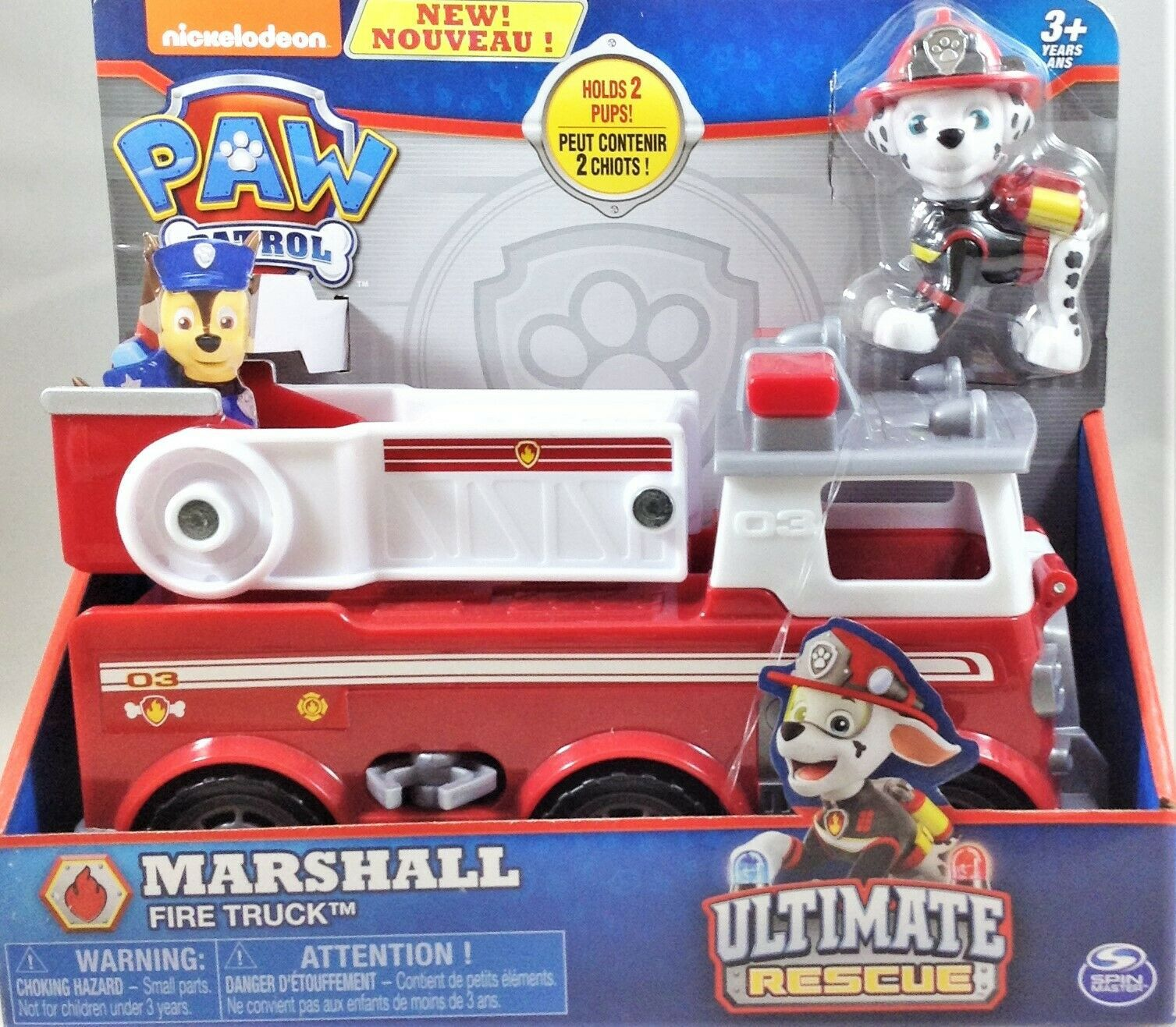 Patrulha Canina Ultimate Rescue Marshall Fire Truck - Sunny -1391