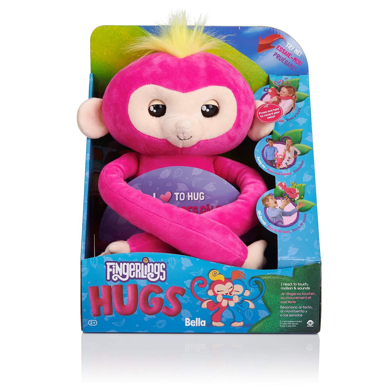 Pelúcia Fingerlings Hugs- Bella- Candide-3614