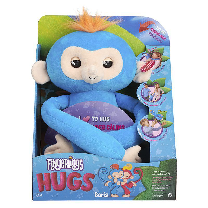 Pelúcia Fingerlings Hugs- Boris- Candide-3614