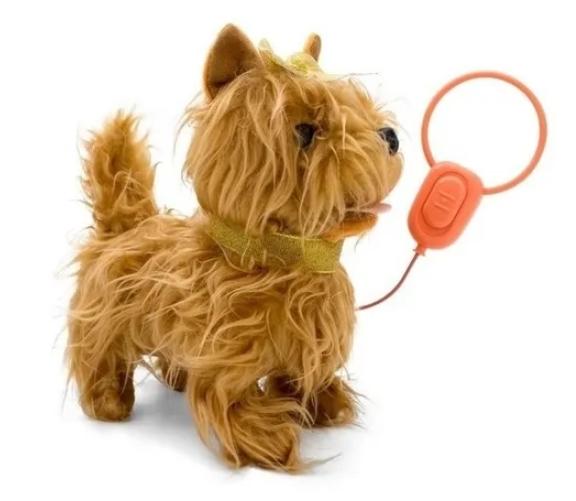Pelúcia Interativa - Playfull Pets Cachorrinho Yorkshire - Toyng