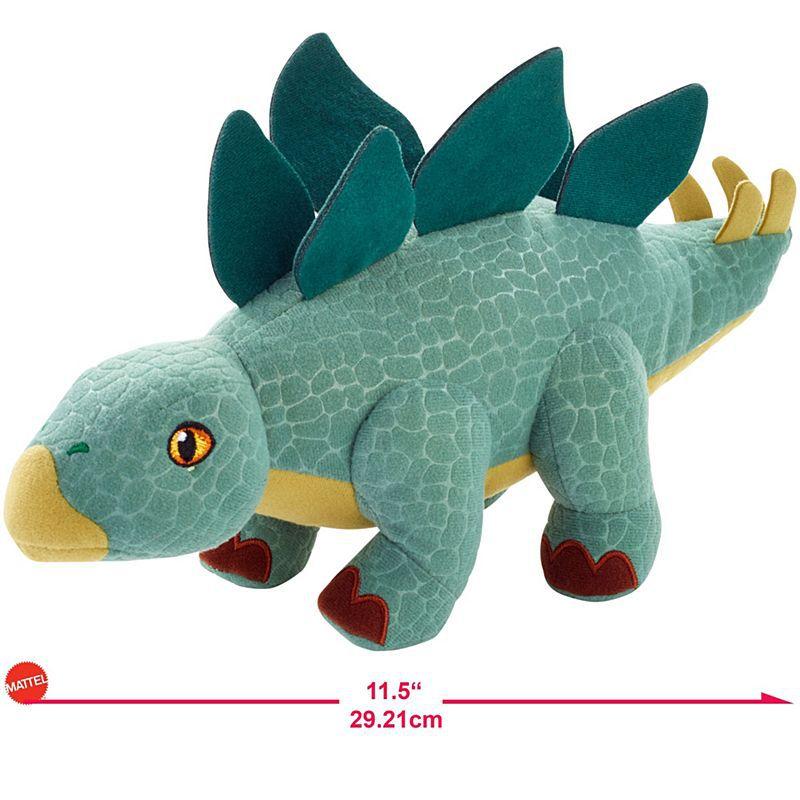 Pelúcia Jurassic World Estegossauro-Mattel-FMM55