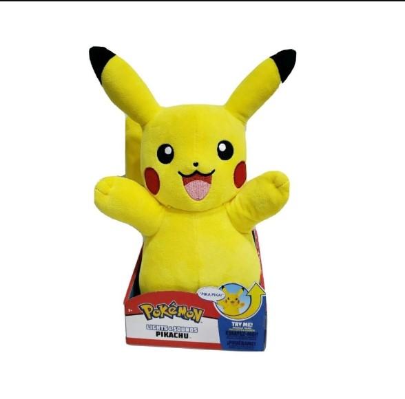 Pelúcia Pokémon Pikachu Com Luz E Som Sunny 2610
