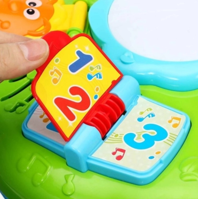 Piano Infantil Com Tambor Adijomar SK0999